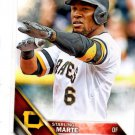 Starling Marte Trading Card 2016 Topps #83 Pirates