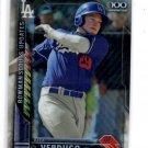 Alex Verdugo Scouts Update Trading Card 2016 Bowman Chrome #BSUJM Dodgers