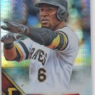 Starling Marte Prism Refractor Trading Card Single 2016 Topps Chrome #115