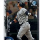 Alex Rodriguez Trading Card Single 2016 Bowman Chrome #61 Yankees