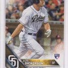 Alex Dickerson RC Trading Card 2016 Topps #281 Padres