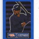 Jason Heyward Blue Sticker Single 2013 Panini Triple Play #1