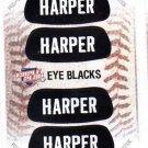 Bryce Harper Eye Blacks Sticker Single 2013 Panini Triple Play 1 Nationals