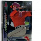 Taylor Ward Scouts Update Trading Card 2016 Bowman Chrome #BSUTW Angels