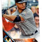 Giancarlo Stanton Trading Card 2016 Topps #269A Marlins