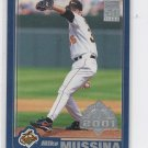 Mike Mussina Trading Card 2001 Topps Opening Day #12 Orioles