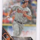Chris Davis Trading Card Single 2016 Topps #14 Orioles