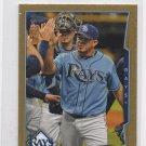 Joel Peralta Gold Trading Card 2014 Topps Mini #236 Rays 35/63