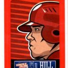 Aaron Hill Red Sticker Trading Card Single 2013 Panini Triple Play #29