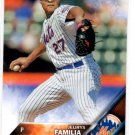 Jeurys Familia Trading Card 2016 Topps #190 Mets