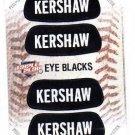Clayton Kershaw Eye Blacks Sticker Single 2013 Panini Triple Play 10 Dodgers