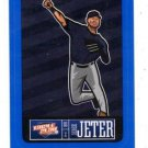 Derek Jeter Blue Sticker Single 2013 Panini Triple Play #11 Yankees
