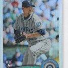 Josh Lueke RC Refractor Trading Card 2011 Topps Chrome #192 Mariners