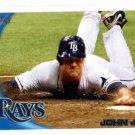 John Jaso Trading Card Single 2010 Topps Update #US273 Rays