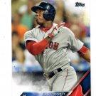 Rusney Castillo Trading Card 2016 Topps #75 Red Sox