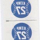 Matt Kemp Tattoos Trading Card Single 2013 Panini Triple Play #7 Dodgers