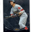 Dustin Pedroia Trading Card Single 2010 Topps Finest #72 Red Sox