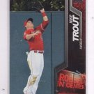 Mike Trout Robbed In Center 2014 Topps #R14 Angels