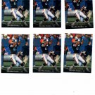 Mark Carrier Trading Card Lot of (11) 1995 Upper Deck #295 Panthers NMT