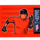 Jose Altuve Red Sticker Trading Card Single 2013 Panini Triple Play #9