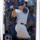 Kyle Schwarber RC Trading Card Single 2016 Bowman Chrome #122 Cubs