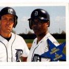 Alan Trammell Lou Whitaker Trading Card 1993 Fleer #709 Tigers