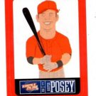 Buster Posey Red Sticker Trading Card Single 2013 Panini Triple Play 21 Giants