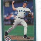 Steve Trachsel Trading Card 2001 Topps #189 Blue Jays