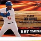 Gary Sheffield Bat Company Trading Card Single 2001 Fleer Focus #7 Dodgers