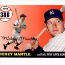 Mickey Mantle Home Run History Trading Card 2007 Topps MHR386 Yankees