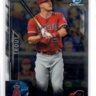 Mike Trout Trading Card Single 2016 Bowman Chrome #1 Angels