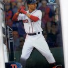 Mookie Betts Trading Card Single 2016 Bowman Chrome #13 Red Sox