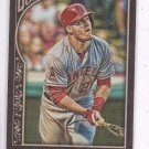 Mike Trout Trading Card Single 2015 Topps Gypsy Queen #1A Angels