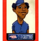 Starlin Castro Red Sticker Trading Card Single 2013 Panini Triple Play #4