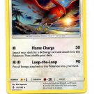 TalonFlame Rare Single Pokemon Sun Moon Guardians 111/145 x1 Unplayed