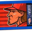 Jered Weaver Blue Sticker Single 2013 Panini Triple Play #6 Angels