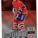 Saku Koivu Trading Card Single 2007-08 Fleer Ultra #TL6 Canadians NMT