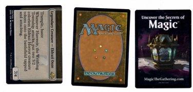 Hanweir Garrison Human Token Checklist Lot Magic The Gathering Eldritch Moon