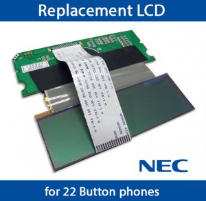 NEC Aspire Replacement LCD Screen Display Phone System Set IP1NA-12TXH 0890043