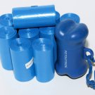 1035 DOG PET WASTE POOP BAGS BLUE 45 REFILL ROLLS CORELESS PLUS DISPENSER FREE