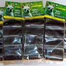 3000 DOG PET WASTE POOP BAGS REFILL 200 ROLLS WITH CORE