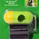 30 DOG PET WASTE POOP BAGS with DISPENSER Petoutside USA