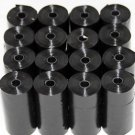 4000 DOG PET WASTE POOP BAGS IN 200 ROLLS REFILL BLACK by Petoutside USA