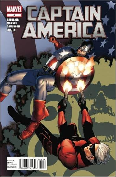 Captain America Trade set #5-10, 6 issue set all VF/NM