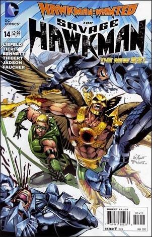 Savage Hawkman #14 VF/NM