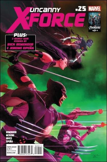 Uncanny X-Force #25 VF/NM