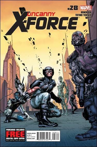 Uncanny X-Force #28 VF/NM