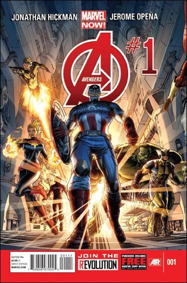 Avengers #1 VF/NM MARVEL NOW (2013)