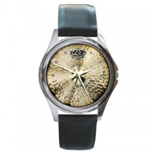 Paiste Twenty Masters Collection 20inch Dark Ride Cymbal Pictures Round Metal Watch