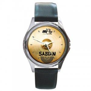Sabian 17inch B8 Pro Thin Crash Cymbal Pictures Round Metal Watch